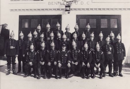 Hadleigh Fire Station in the 1930s
