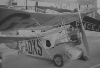 Flying Flea G-ADXS in the Southend Historic Aircraft Museum 1974, now displayed in Breighton, Yorkshire | Ian Hawks