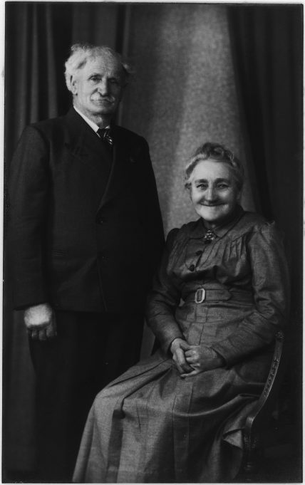 Frederick's parents, James and Susannah, circa 1928 | Wanstall Family Collection