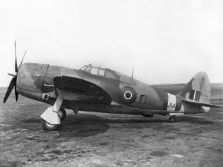 P 47D as flown in India