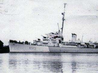 HMS Curzon | Ian