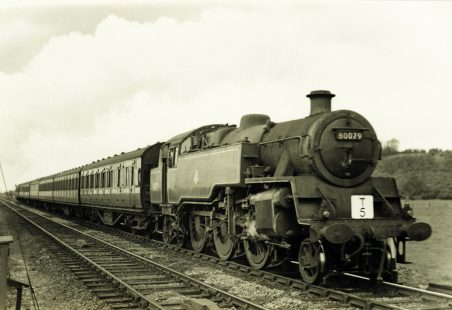 Railway photography at Hadleigh in the 1950s and 1960s