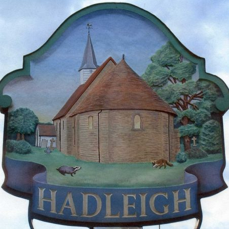 Hadleigh Sign | Designed by David Hurrell