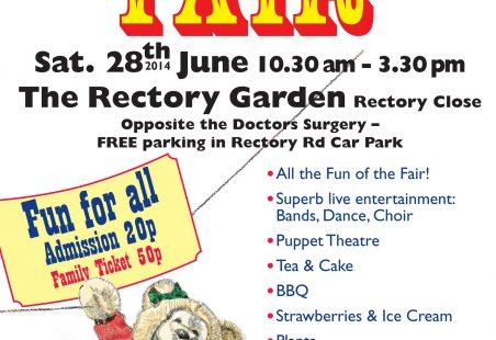 Hadleigh Fair 28th June 2014