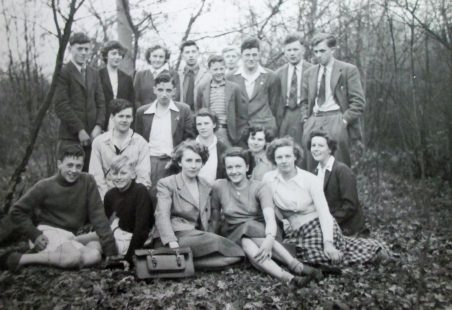 Hadleigh Youth Club in the late 1940s