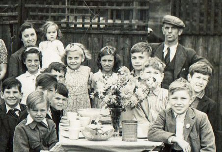 VE Day Party, Meadow Road, Hadleigh