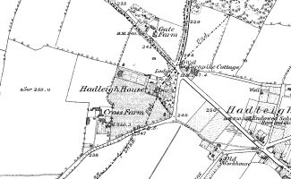 The 1876 Ordnance Survey map of what became known as