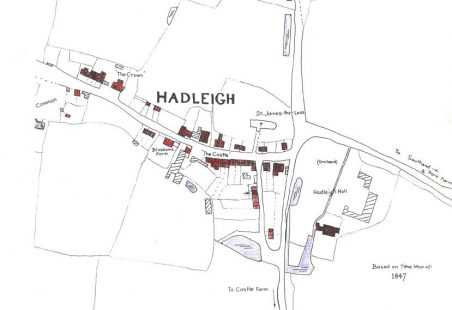 Hadleigh & Thundersley Tithe Records