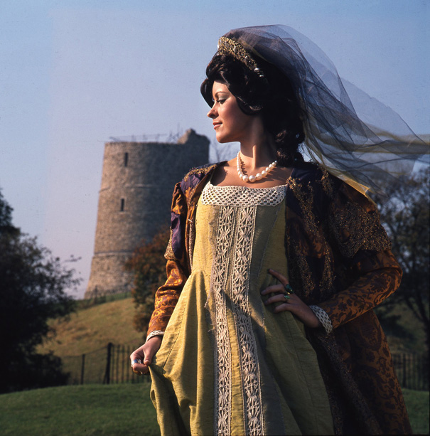 A Queen or Princess at Hadleigh? Well, when the castle was new or when it was repaired in the 1360s it would have been a place of pride... | © Robert Hallmann