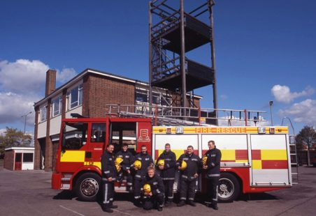 Hadleigh Fire Station White Watch