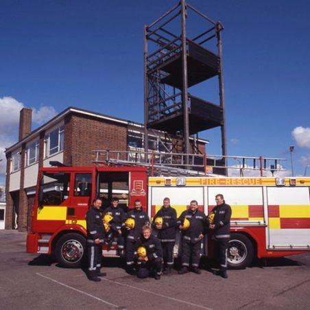 Hadleigh Fire Service White Watch | @Robert Hallmann