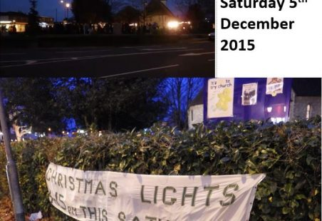 The 2015 Hadleigh Christmas Lights