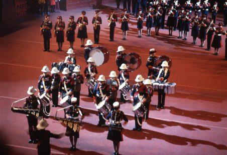 Hadleigh Boys Band and Majorettes