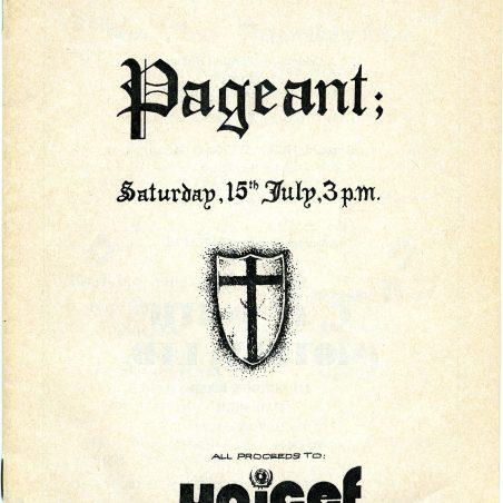 Original Programme | R Hallmann