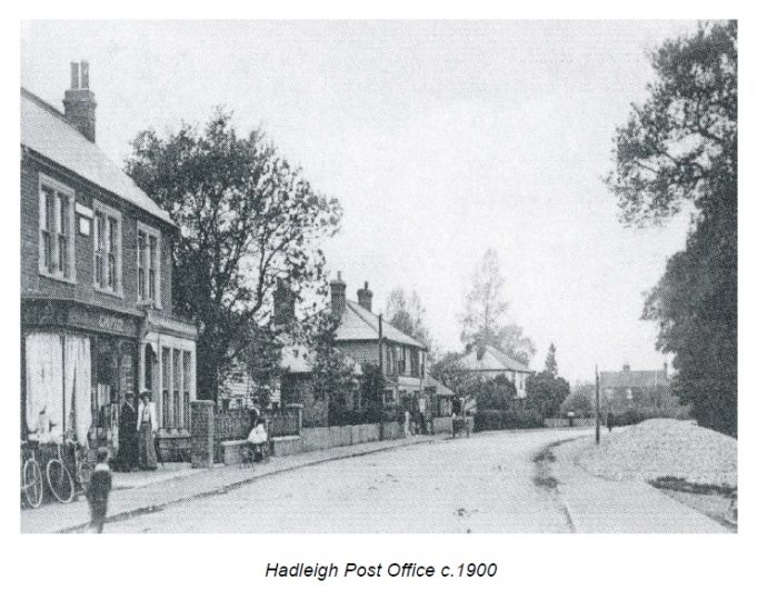 Postal Services in Victorian Hadleigh