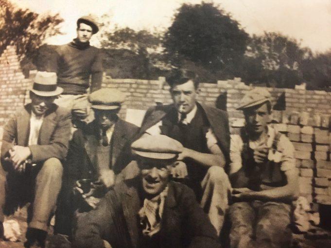 David Tanser Dawson and the brickfield crew | David Dawson