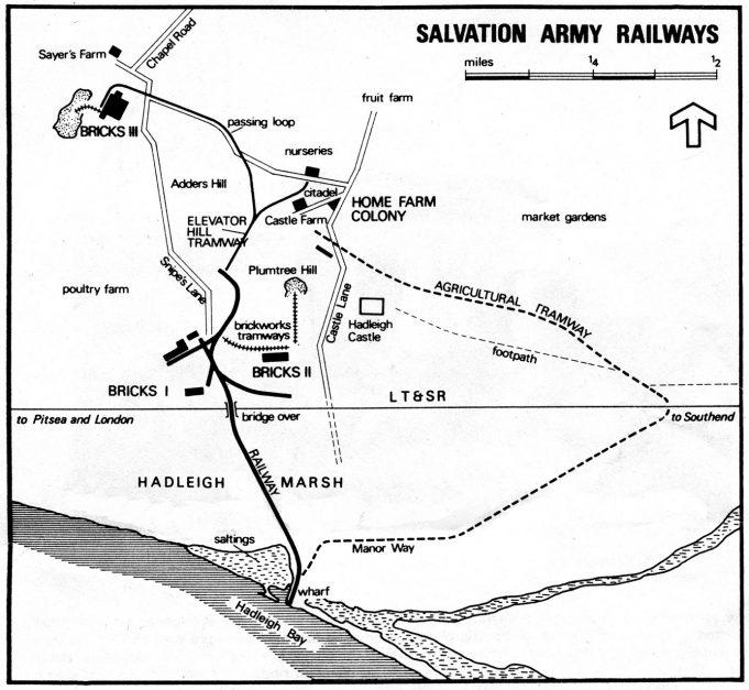 Hadleigh Salvation Army Railways in their heyday
