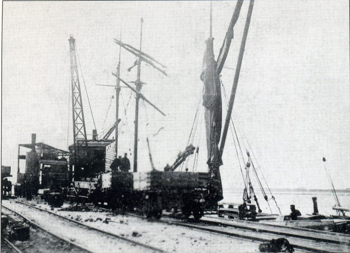 The jetty around 1900