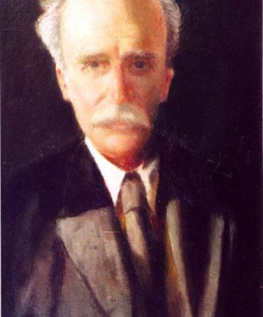 Arthur George Davis, painted in Thundersley in 1930 | Harold Hitchcock