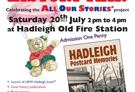 Hadleigh History Fair - All Our Stories