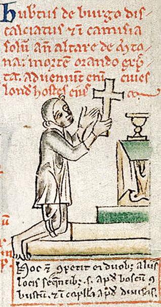 Hubert de Burgh at Sanctuary
