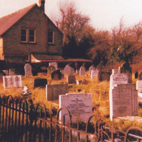 The rear of the Western Road Chapel viewed from the graveyard.