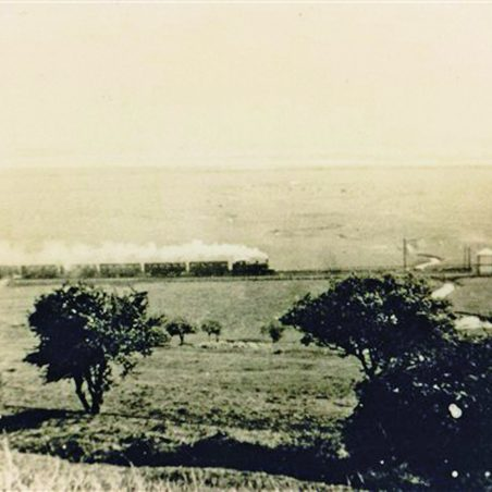 A vintage view from the Castle escarpement | Public domain