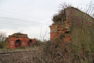All that remains today of the railway bridge which crosses the Southend to Fenchurch Street line. | Graham Cook