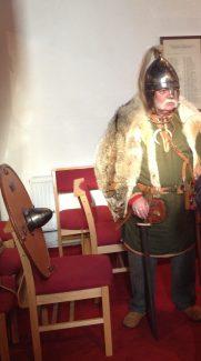 Ken Rochester as Saxon warrior | NT
