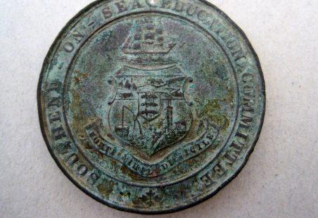 Medal Found In Hadleigh Garden