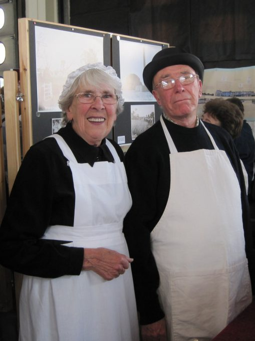 Marie and Alan Kiln manning the Friends of St James-the-Less stall | Lynda Manning