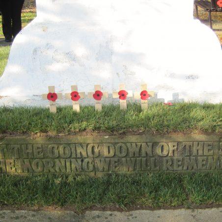 Second World War Memorial Inscription | Lynda Manning
