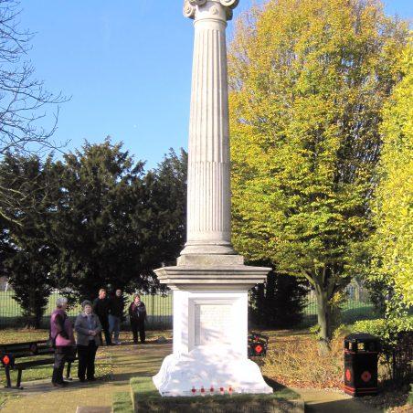 War Memorial in November sunshine | Lynda Manning