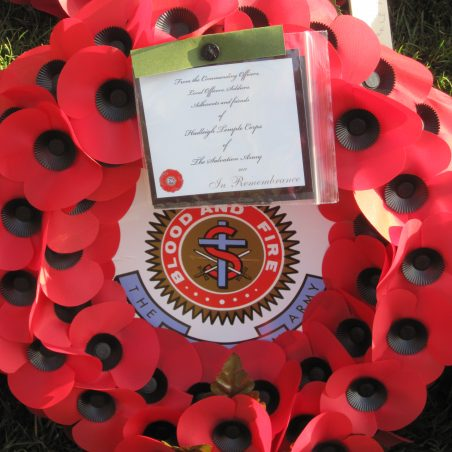 The Salvation Army wreath | Lynda Manning