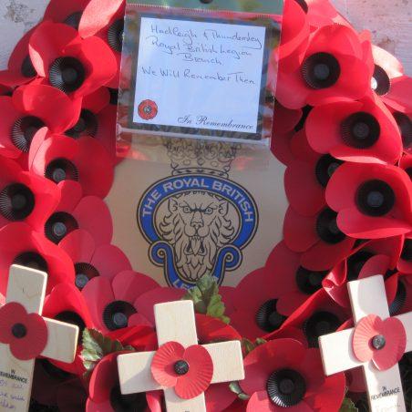 The Royal British Legion wreath | Lynda Manning