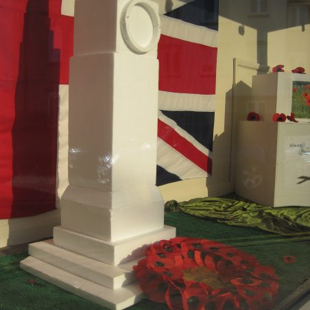 Stibbards' window - tribute to the fallen | Lynda Manning