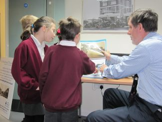 Hadleigh Junior pupils enjoying their visit to our office | Lynda Manning