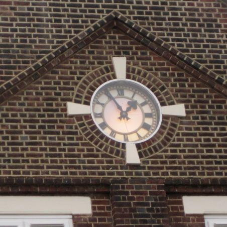 Illuminated HOFS Clock - to signal that Mr Pickles had switched it on | Lynda Manning