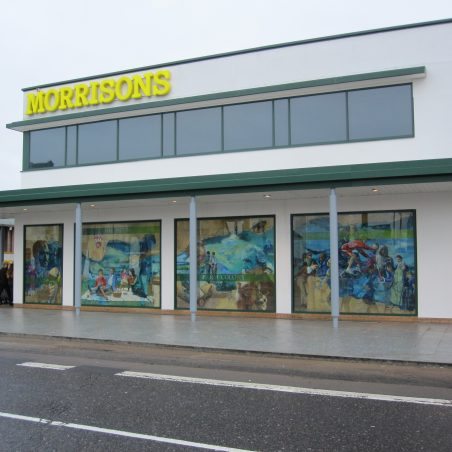 Morrisons store just before the offical opening | Tony Manning