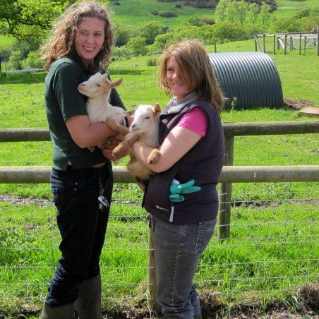 Seb and Emma (left) Shelley and Isla (right) | Lynda Manning