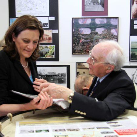 Rebecca Harris with Bob Nichols | Graham Cook
