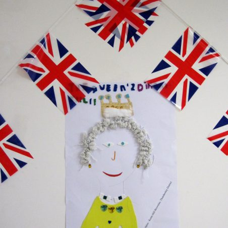 Diamond Jubilee Decorations at Hadleigh Old Fire Station | Lynda Manning