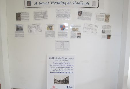 Diamond Jubilee Decorations at Hadleigh Old Fire Station
