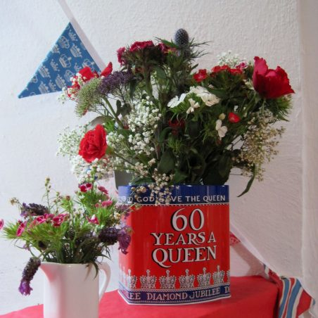 Let's celebrate the Diamond Jubilee - display by  Catherine Negus | Lynda Manning