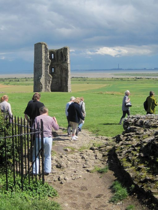 Heading for Hadleigh Castle | Lynda Manning