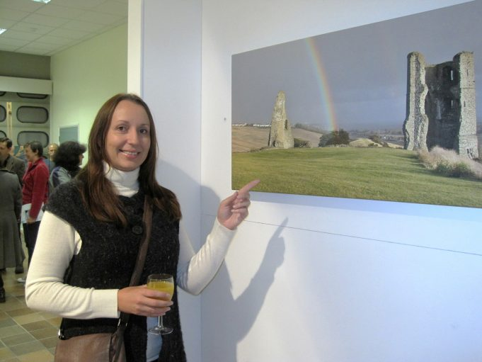 Rainbow over Hadleigh Castle with Alison Wood | Lynda Manning