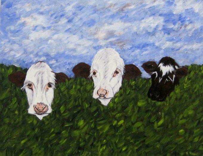 Three Wise Cows | Lynda Manning
