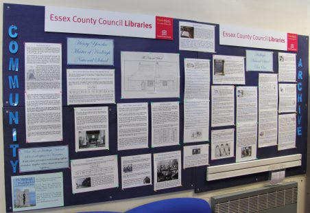 Hadleigh Library Display