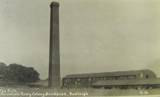 The brickfield at Sayers Farm.