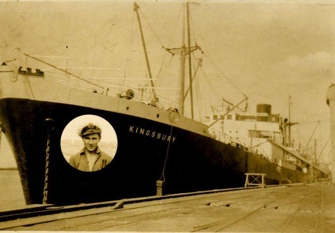 Four years as apprentice aboard   Ian